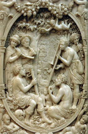 not an ivory gemshorn
